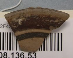 Fragment of a pyxis lid