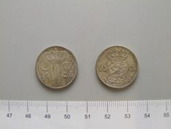 25 Cents of William I of the Netherlands