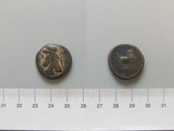 Coin of Mithradates II from Parthia