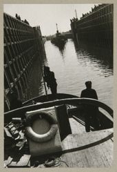 Ships in the Lock (Entrance to the Lock), from The Alexander Rodchenko Museum Series Portfolio, Number 1: Classic Images
