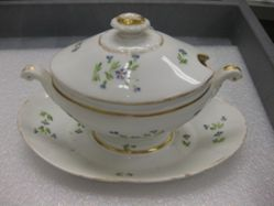 Small Covered Tureen on Stand