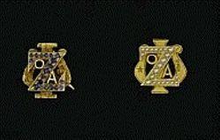 Zeta Psi Fraternity pin