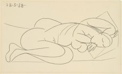 Dormeuse (Sleeping Woman) [from Afat series]