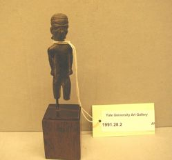 Bronze male figurine