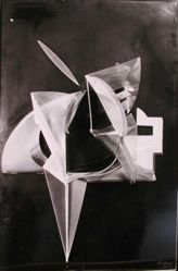 "Photograph of Antoine Pevsner's ""Relief Construction,"" 1929, plastic -- from Katherine S. Dreier's private collection"