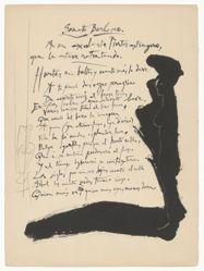 Soneto burlesco (Burlesque Sonnet), for Louis de Góngora y Argote's Vingt Poèmes de Góngora (Twenty Poems by Góngora)