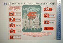 Razvitie vostochnykh raionov strany (The Development of the Eastern Regions of the Country)