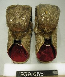 Pair of Durbar slippers