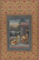 Raga Sri, an illustration from a Ragamala series