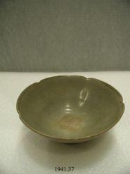 Bowl with foliate rim