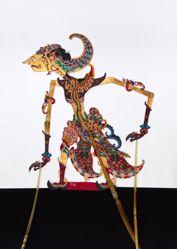 Shadow Puppet (Wayang Kulit) of Sadewa or Tangsen