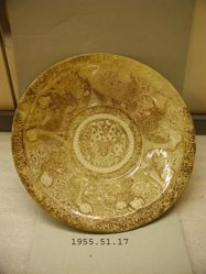 Bowl Decorated in luster