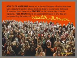 History of Wealth and Power, from the Guerrilla Girls' Portfolio Compleat 2012–2016 Upgrade