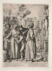Saint Laurence Being Prepared for Martyrdom