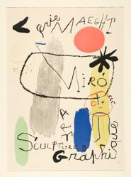 Galerie Maeght, Miró, Sculptures Art Graphique