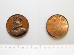 Bronze medal of Louis VII Roi