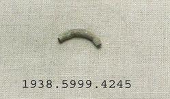 Bronze ring shaped fragment