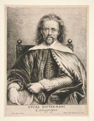 Portrait of Lucas Vorsterman I (1595-1675)