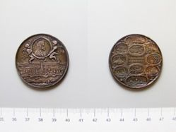 Silver Medal of Leopold I and the Great Turkish War