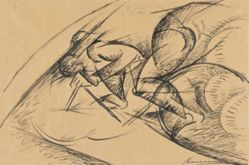 Study for Dynamic Force of a Cyclist I