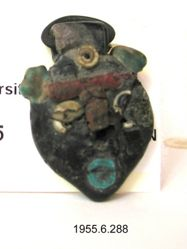 Face Bead Pendant of a Sylvan God