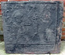 """Stove plate, """"Dance of Death"""""""