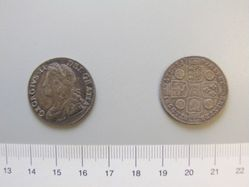 1 Shilling of George II, King of England from London