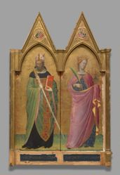 Saints Augustine and Lucy and Two Evangelists