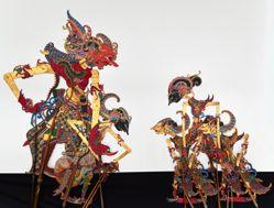 Shadow Puppet (Wayang Kulit) of Arjuna or Janaka