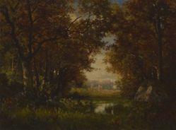 Scene in the Forest of Fontainebleau