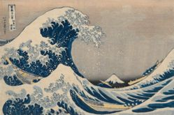 Beneath the Waves off Kanagawa, also known as The Great Wave, from the series Thirty-Six Views of Mount Fuji