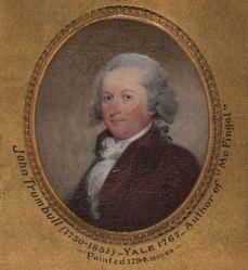 John Trumbull (1750-1831), B.A. 1767, M.A. 1770, LL.D. 1818