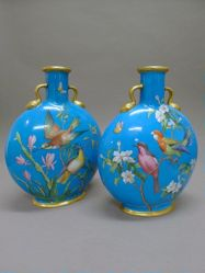 Pair of Pilgrim Bottles
