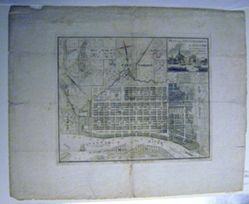 Plan Of the City and Harbour of Savannah in Chatham County State of Georgia 1818