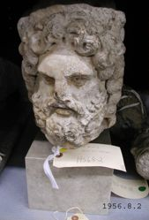 Head of Jupiter or possibly Silvanus