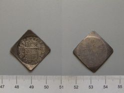 6 1/4 Stuivers (Siege Coinage) of the United Netherlands from Groningen and Ommeland