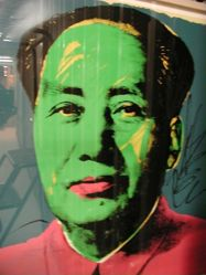 Mao, in a portfolio of ten: Green face