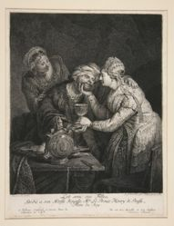 Lot with his Daughters