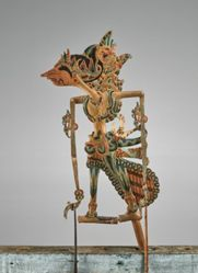 Puppet (Wayang Klitik) possibly of Trestajumena or Destajumena