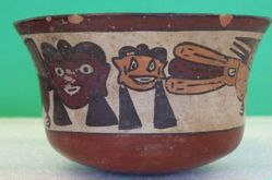 Bowl with Anthropomorphic Birds