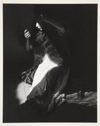 Retrato de lo eterno (Portrait of the Eternal) [Woman Combing Her Hair], one of 7 photographs from the portfolio Manuel Alvarez Bravo