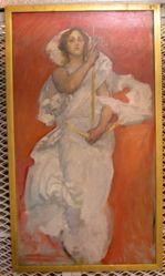 Figure Study of Faith, for The Spirit of Religious Liberty, Rotunda, Pennsylvania State Capitol, Harrisburg