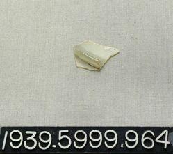 Plate (base fragment)