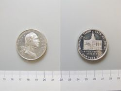 Medal of George Washington Commemorating the centennial of his inauguration