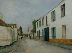 Street Scene (Rue de village)