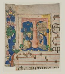 "Nativity in an Initial ""T"": Cutting from a gradual"