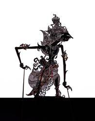 Shadow Puppet (Wayang Kulit) of Kresna
