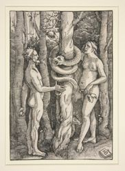 Adam and Eve with the Serpent