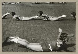 Gymnastics, from The Alexander Rodchenko Museum Series Portfolio, Number 1: Classic Images
