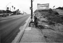 Pacific Coast Highway & Termino Avenue, Looking West, Long Beach, from the series Public Transit Areas (#10)